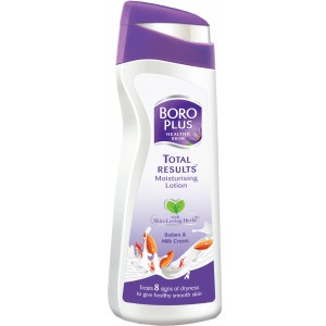 Buy Boroplus Total Results Moisturising Lotion - Badam & Milk Cream - Nykaa