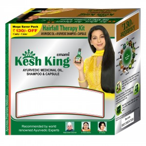 Buy Kesh King Hairfall Therapy Kit (Rs.130 Off) - Nykaa