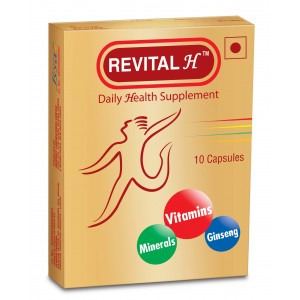 Buy Revital H Daily Health Supplement - Nykaa