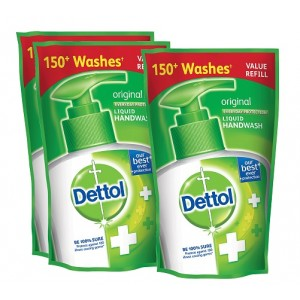 Buy Dettol Original Liquid Hand Wash (175 ml)(Buy 2 Get 1 Free)(Off Rs.49) - Nykaa