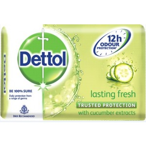 Buy Dettol Lasting Fresh Soap - Nykaa