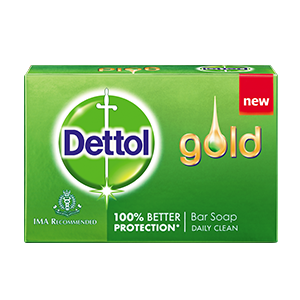 Buy Dettol Gold Bar Soap Daily Clean - Nykaa