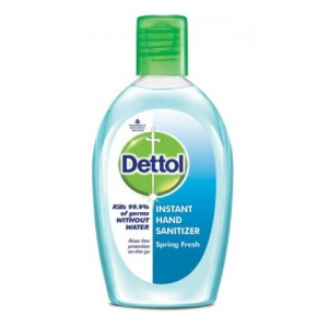Buy Dettol Hand Sanitizer Spring Fresh - Nykaa