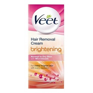 Buy Veet Hair Removal Cream - Brightening (Normal To Dry Skin) - Nykaa