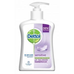 Buy Dettol Liquid Soap Sensitive Pump - Nykaa