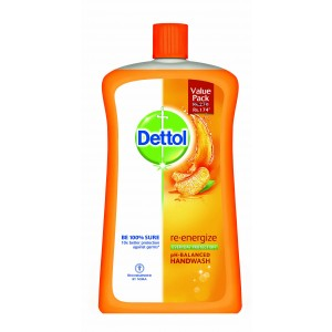 Buy Dettol Liquid Handwash Re - Energize Jar - Nykaa