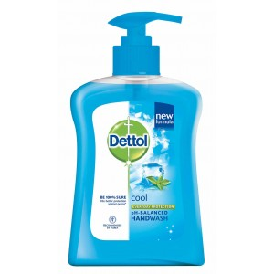 Buy Dettol Liquid Soap Cool Pump - Nykaa