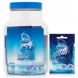 Buy Durex Jeans Condoms Jar 25 Pack - Nykaa