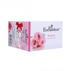 Buy Enchanteur Romantic Perfumed Soap for Women (Pack Of 3) - Nykaa