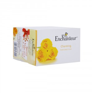 Buy Enchanteur Charming Perfumed Soap  for Women (Pack Of 3) - Nykaa