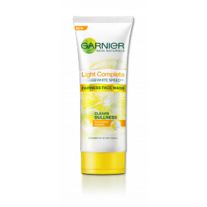 Buy Garnier Skin Naturals Light Complete Fairness Face Wash - Nykaa