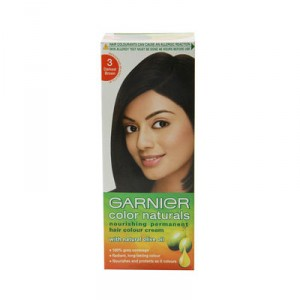 Buy Garnier Color Naturals - 3 Darkest Brown - Nykaa