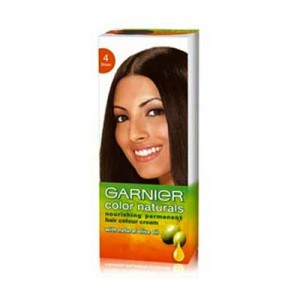 Buy Garnier Color Naturals - 4 Brown - Nykaa