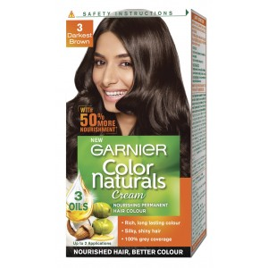 Buy Garnier Color Naturals Unidose -Darkest Brown - Nykaa