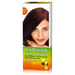Buy Garnier Color Naturals - 4.6 Burgundy - Nykaa