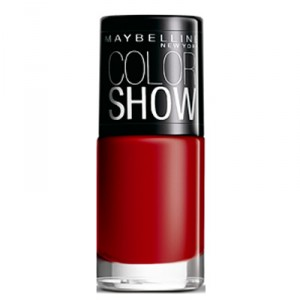 Buy Maybelline Color Show Nail Lacquer - Downtown Red - Nykaa
