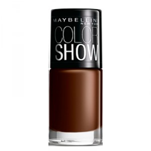Buy Maybelline Color Show Nail Lacquer - Choco Sin - Nykaa