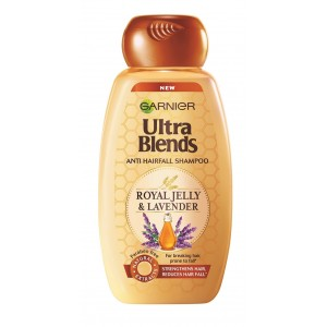Buy Garnier Ultra Blends Royal Jelly & Lavender Shampoo - Nykaa