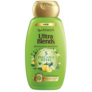 Buy Garnier Ultra Blends 5 Precious Herbs Shampoo - Nykaa