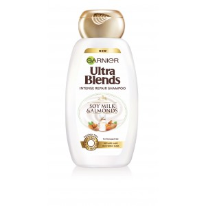 Buy Garnier Ultra Blends Soy Milk & Almonds Shampoo - Nykaa