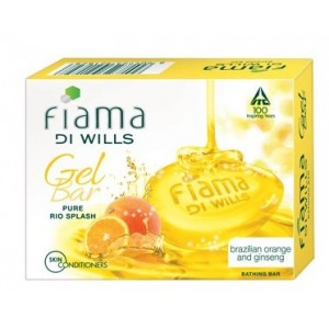 Buy Fiama Di Wills Pure Rio Splash Gel Bar - Nykaa