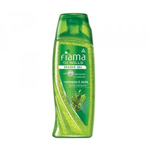 Buy Fiama Di Wills Lemongrass & Jojoba Shower Gel + Free Loofah Worth Rs.60 - Nykaa