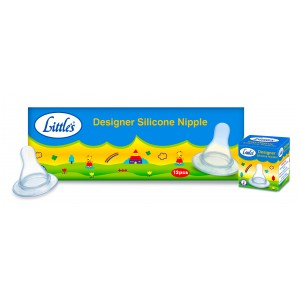 Buy Little's Designer Silicone Nipple (Multicolor) - Nykaa