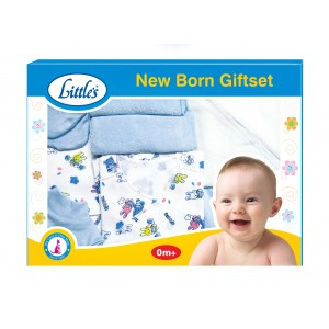 Buy Herbal Little's New Born Gift Set (Blue) - Nykaa