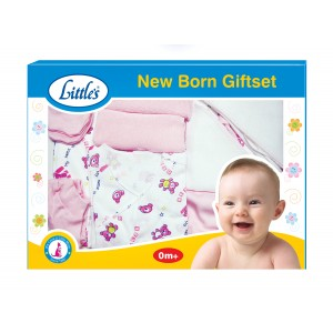 Buy Herbal Little's New Born Gift Set (Pink) - Nykaa