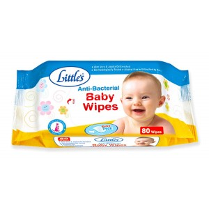 Buy Little's Baby Wipes (80 Sheets) - Nykaa