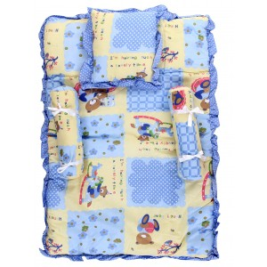Buy Littles Baby Bed - Blue - Nykaa