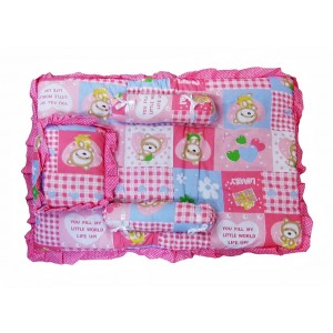 Buy Littles Baby Bed - Pink - Nykaa