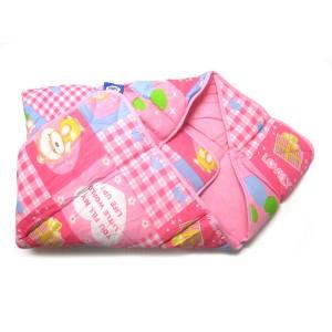 Buy Littles Dry Robe - Pink - Nykaa