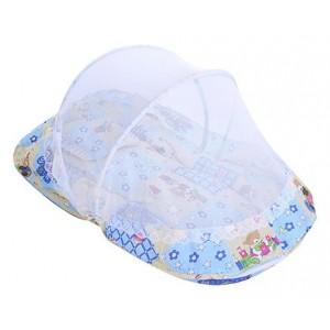Buy Littles Bassinet Honey Bear Print - Blue - Nykaa