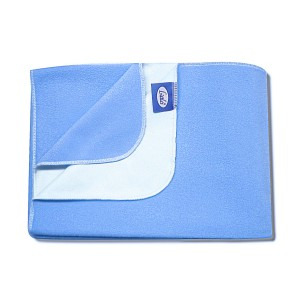 Buy Littles Easy Dry Bed Protector Large - Blue - Nykaa
