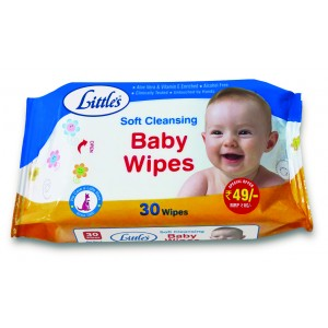 Buy Little's Soft Cleansing Baby Wipes (30 Count) - Nykaa