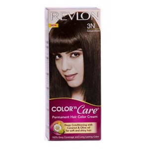 Buy Revlon Color n Care Permanent Hair Color Cream - Darkest Brown 3N (Rs 25 off) - Nykaa