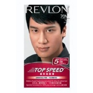 Buy Revlon Top Speed Hair Color Man- Natural Black  - Nykaa