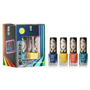 Buy Street Wear Color Rich Not So Neon Collection Kit - Nykaa