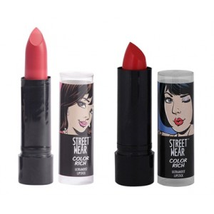 Buy Herbal Street Wear Color Rich Perfect Lip Color Collection - Set Of 2 - Nykaa