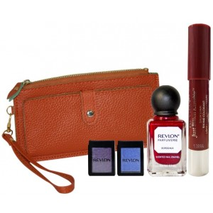 Buy Revlon Glam Diva Beauty Collection Maroon With Leather Wallet (Maroon) - Nykaa