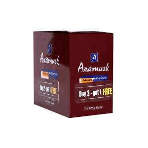 Buy Herbal Aramusk Bathing Soap for Men Buy 2 Get 1 - Nykaa