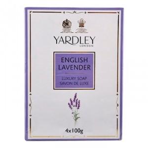 Buy Yardley English Lavender Bathing Soap (Pack of 4) - Nykaa