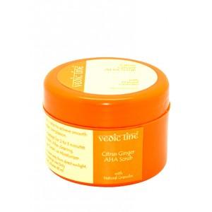 Buy Herbal Vedic Line Citrus Ginger AHA Scrub - Nykaa