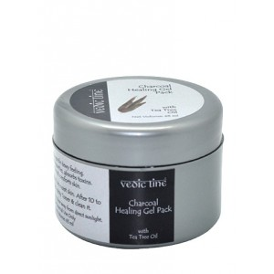 Buy Vedic Line Charcoal Healing Gel Pack  - Nykaa