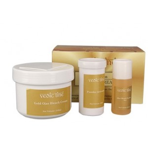Buy Vedic Line Gold Ojas Bleach Cream - Nykaa