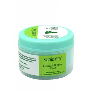 Buy Herbal Vedic Line Neem Brahmi Cream - Nykaa
