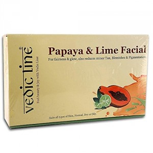 Buy Vedic Line Papaya & Lime Facial - Nykaa