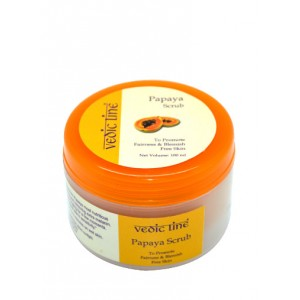 Buy Vedic Line Papaya Scrub - Nykaa