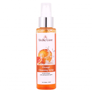 Buy Vedic Line Orange Cleansing Syrup - Nykaa